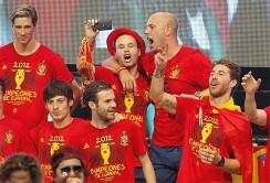 La fiesta de la Selección Española en Cibeles