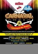 Areia Chill Out: todos los Carnavales del mundo en Madrid