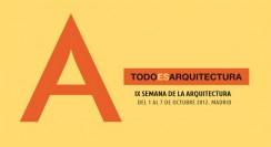 Semana de la Arquitectura en Madrid 2012