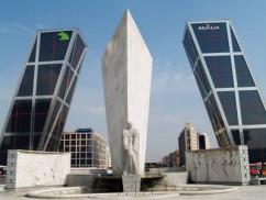 La Puerta de Europa en Madrid