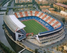 Visita el estadio Vicente Calderón, el campo del Atlético de Madrid