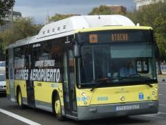 Bus Madrid-Barajas: 2.000 pasajeros diarios