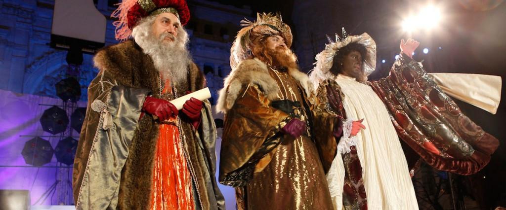 Cabalgata de Reyes en Madrid 2013