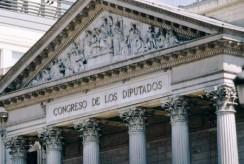 Visita al Congreso de los Diputados en Madrid