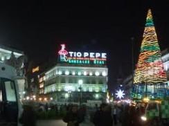 Madrid se prepara para recibir la Navidad