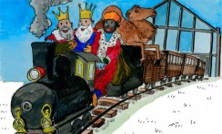 Navidad en el Museo del Ferrocarril de Madrid