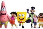 Bob Esponja y compañía en el Parque Nickelodeon de Madrid