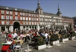 Madrid: terrazas también en invierno